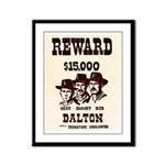 The Dalton Gang Framed Panel Print