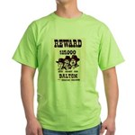 The Dalton Gang Green T-Shirt