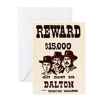 The Dalton Gang Greeting Cards (Pk of 10)