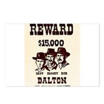 The Dalton Gang Postcards (Package of 8)