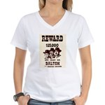 The Dalton Gang Women's V-Neck T-Shirt