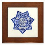 Nevada Highway Patrol Framed Tile