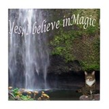 Yes, I believe in Magic ! Tile Coaster