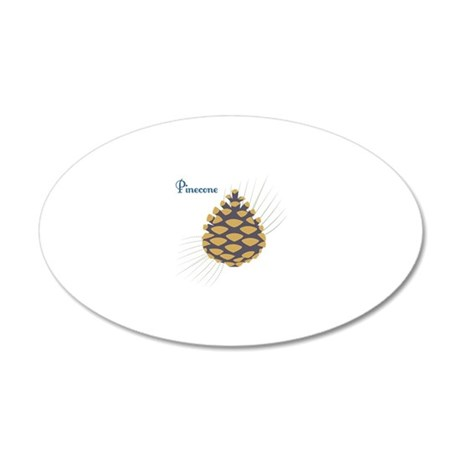 Pinecone Wall Decal