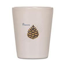 Pinecone Shot Glass