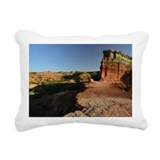 Rugged Palo Duro Canyon Rectangular Canvas Pillow