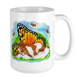 Papillon Mystical Monarch Ceramic Mugs