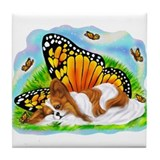 Papillon Mystical Monarch Tile Coaster