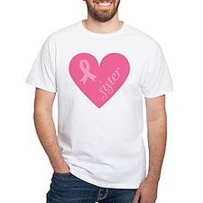 Sister pink heart T-Shirt