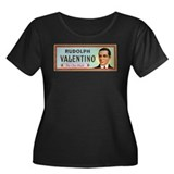 "PLUS SIZE ""Rudolph Valentino: The Chic Sheik"" Tee"