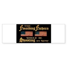 Cute Patriotic Bumper Sticker