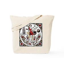 rockabilly tattoo Tote Bag