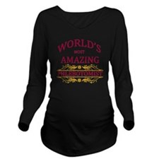 Phlebotomist Long Sleeve Maternity T-Shirt