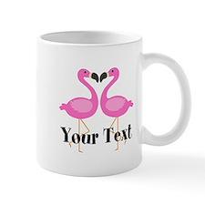Personalizable Pink Flamingos Mugs