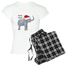 Christmas Elephant pajamas