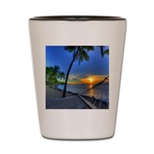 Hawiian Island Shot Glass