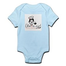 Cook Like A Girl! Infant Body Suit