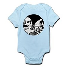 Alchemical Skull Icon Infant Bodysuit