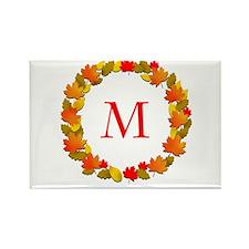 Autumn Monogram Magnets