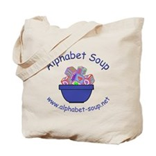 Alphabet Soup Tote Bag