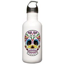 Sugar Skull 5 Water Bottle