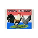 Dutch Bantams Rectangle Magnet (10 pack)