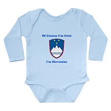 Slovenian emblem baby Bodysuit Body Suit