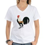 Dutch Bantam Rooster Women's V-Neck T-Shirt