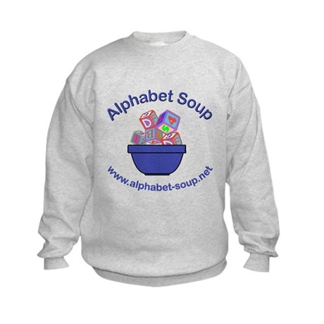 Alphabet Soup Kids Sweatshirt