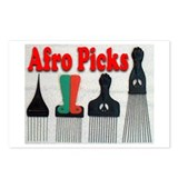 Afro Picks Postcards (Package of 8)