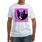 German Shepherds Fitted T-Shirt