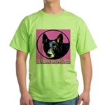 German Shepherds Green T-Shirt