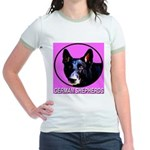 German Shepherds Jr. Ringer T-Shirt