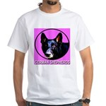 German Shepherds White T-Shirt