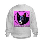 German Shepherds Kids Sweatshirt