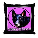 German Shepherds Throw Pillow