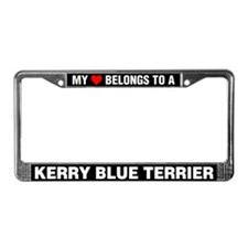 My Heart Belongs To A Kerry Blue Terrier
