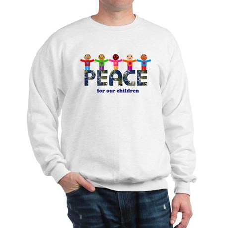 Peace for our children Men's Sweatshirt