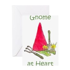 Funny Gnome Greeting Card