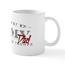 Proud Army Dad (red) Small Mug