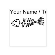 Custom Fish Bones Sticker