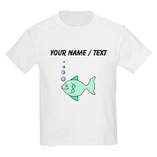 Custom Cartoon Fish T-Shirt