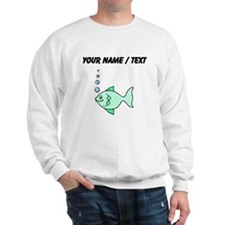 Custom Cartoon Fish Sweatshirt