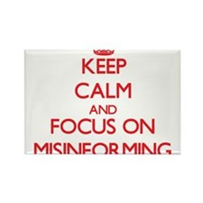 Keep Calm and focus on Misinforming Magnets