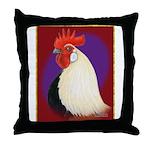 Dutch Bantam Cock Throw Pillow