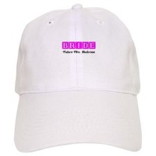 Hot Pink Bride Personalized Baseball Baseball Cap