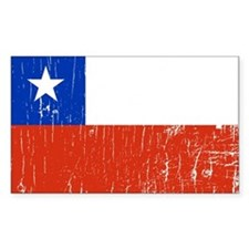 Vintage Chile Rectangle Decal