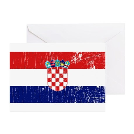 Vintage Croatia Greeting Cards (Pk of 10)