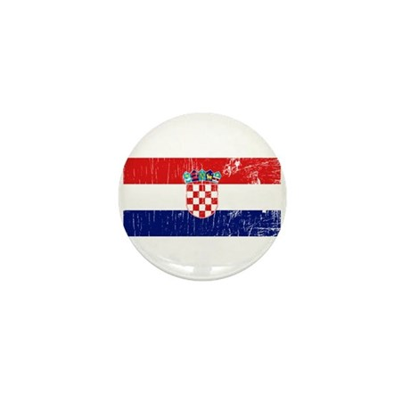 Vintage Croatia Mini Button