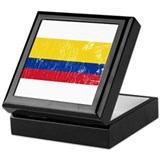 Retro Ecuador Keepsake Box